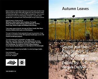 Autumn Leaves | Sound and Environment in Artistic Practice | CRISAP/ Double-Entendre