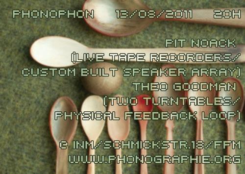 Phonophon | 13.08.2011 | 20:00