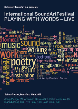 PLAYING WITH WORDS – LIVE | Various Artists