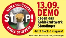Am 13.9. ab 14.00 Uhr Sternmarsch-Demo