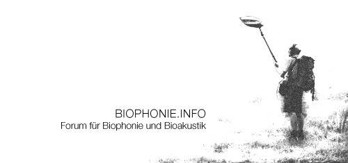 BIOPHONIE.INFO