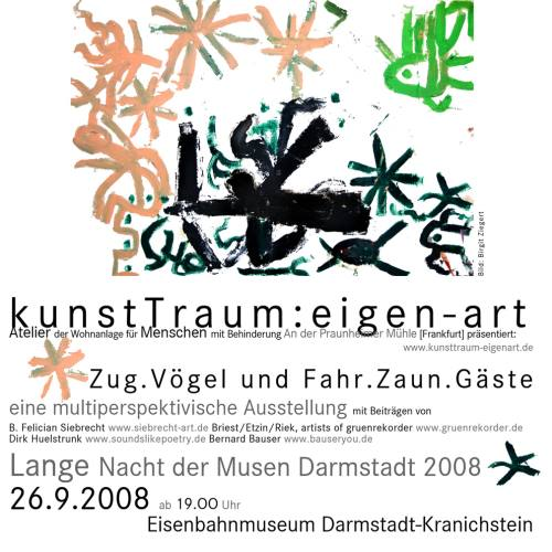 Gruenrekorder | 26.09.2008 | 19:00 | Lange Nacht der Musen Darmstadt