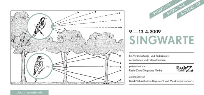 SINGWARTE - Bioakustik, Biophonie und Biosemiotik