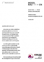 MOSELRAUSCHEN / Workshop - 26/27 Juli - 10:00 / Mosellum Koblenz