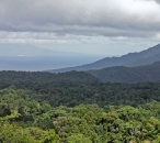 View of Guadeloupe from the Morne Diablotins National Park