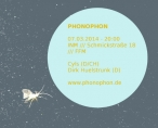 Phonophon 07.03.2014