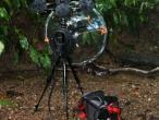 Quadraphonic parabolic setup
